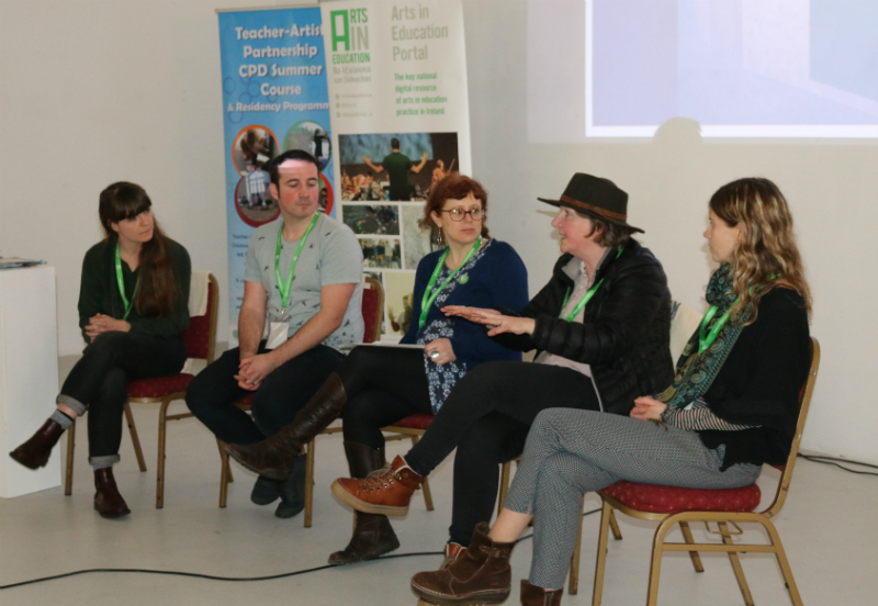 Portal Spring Regional Day - Q&A Panel Discussion with Aideen McCole & Stephen Gilmartin from the Irish Architecture Foundation, Jo Holmwood & Mary Branley from Kids' Own Publishing Partnership, Artist Kate Wilson from the Teacher - Artist Partnership (TAP)