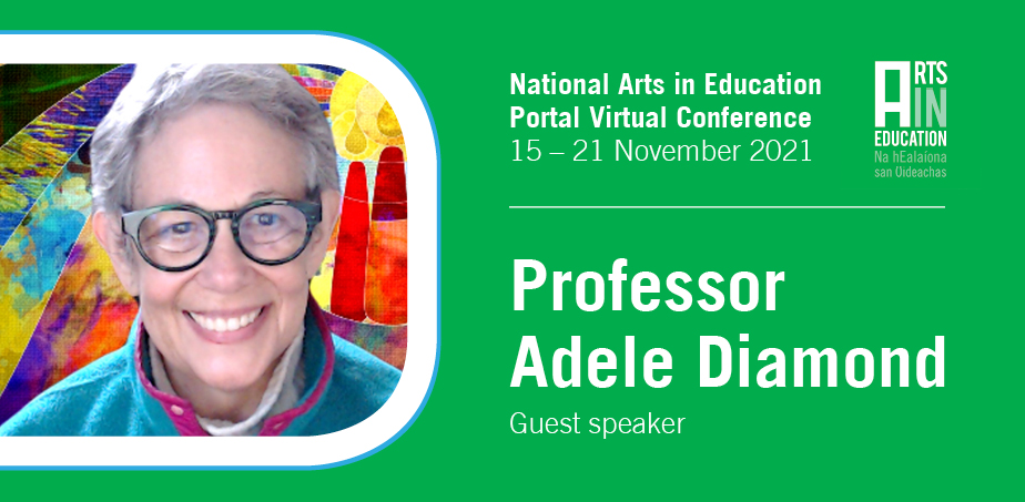 Adele Diamon guest speaker for Arts in Education conference