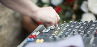 Music generation job opportunity sound mixing desk