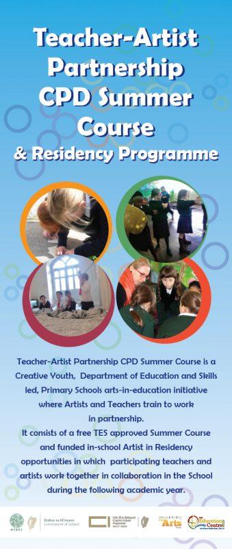 Teacher - Artist Partnership (TAP) CAP Information