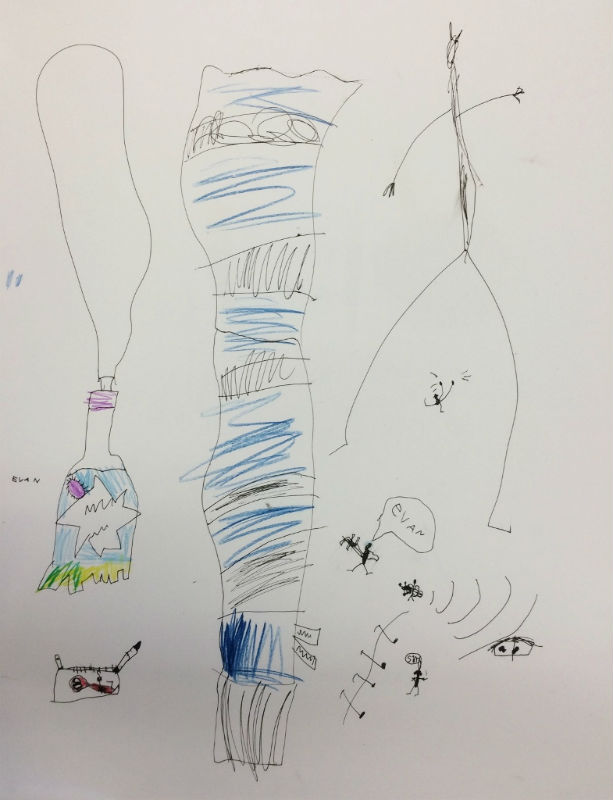 2_Senior Infants_Micro Macro Drawings_edit2