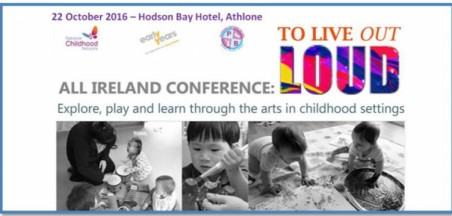 All-Ireland Conference to promote the Arts in Early Childhood and After School