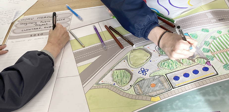 Architects in Schools 2021, Holy Faith School. Credit: Sinead McDonnell