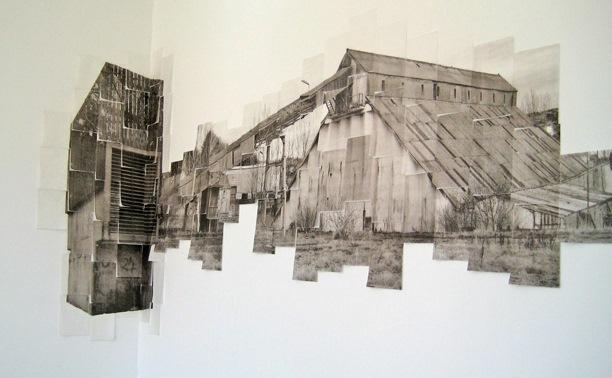 'Catriona Leahy, 'Albatross', Photocopy transfer print on Shiohara Japanese Paper'