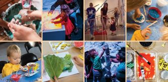 Image copyright The Ark: A year of Early Years Workshops