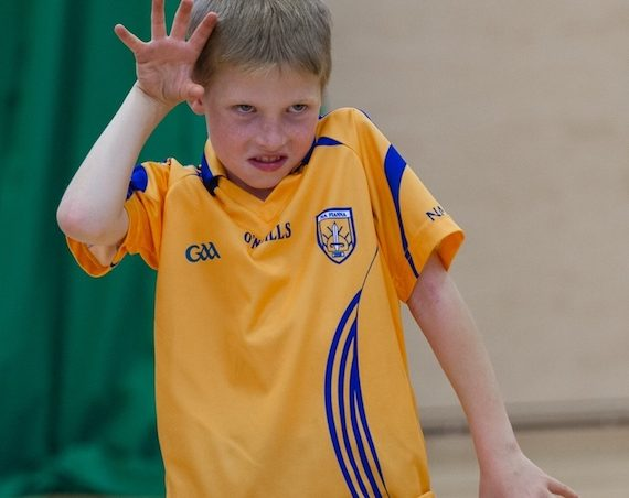 Children from St. Patrick's Boys NS Drumcondra - Photo by Anthony Griffin