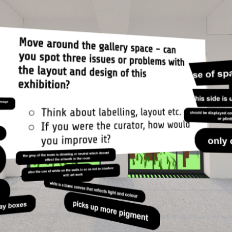 Image: The Hunt Museum, Virtual Gallery Workshops using Mozilla Hubs