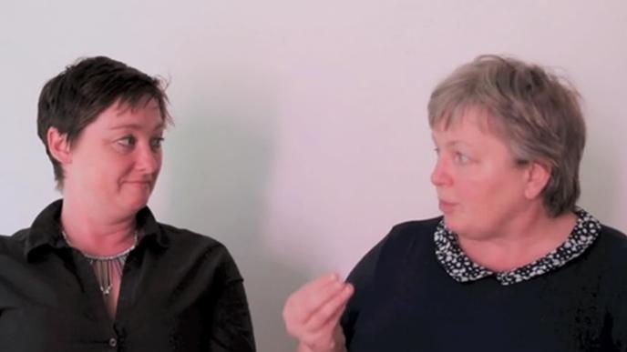 Sarah Fitzgibbon & Máire O'Higgins