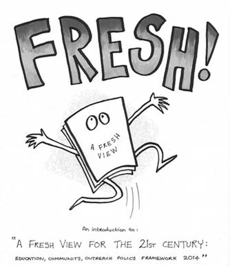 A Fresh View comic