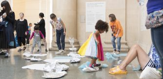 Under 5s Explore with Ania Bas at Queer and Now, June 2017_(c) Tate Photography