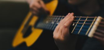Young Guitar Player Music Generation