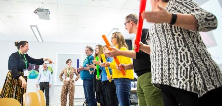 Image copyright: Quavers to Quadratics: Exploring the World of Science through Music and Sound - National Arts in Education Portal Day 2019