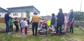 Image copyright Galway Educate Together Senior Infants Down to Earth workshop