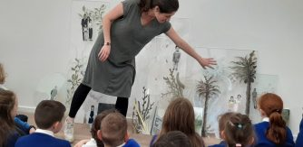 Image copyright: Solistice Arts Centre - The Gallery as a Classroom – CPD for Primary School Teachers