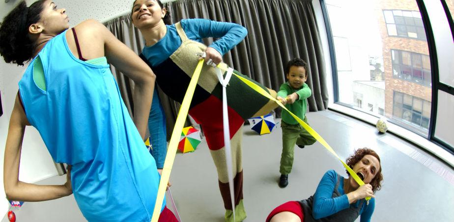 Photo shows Selma Daniel, Zion Daniel, Thalita Reis, Roseane B Flower, A-do-le-ta!, Dance House. Photo: Momo Lee. Selma Daniel is a recipient of the YPCE bursary