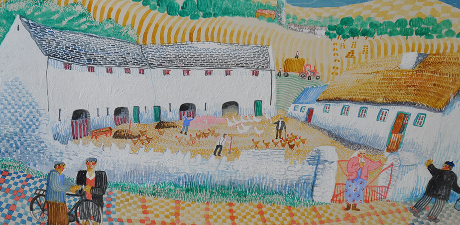 Tom Walsh, Untitled III, 1989, Watercolour
